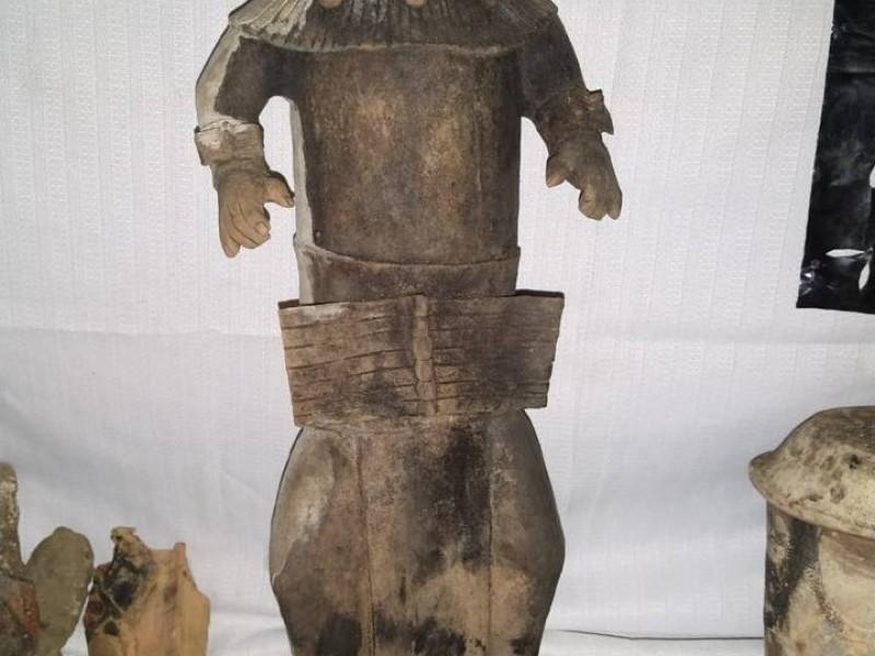 Dan a conocer hallazgo de presuntas piezas prehispánicas en Chenalhó