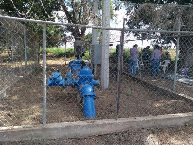 Dan agua a San Ignacio Río Muerto