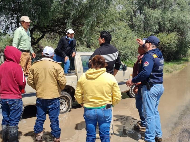 Dan auxilio a familias damnificadas San Luis de la Paz