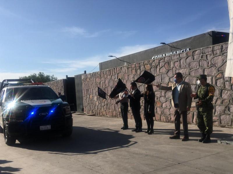 Dan banderazo a Policía Ambiental de Zacatecas