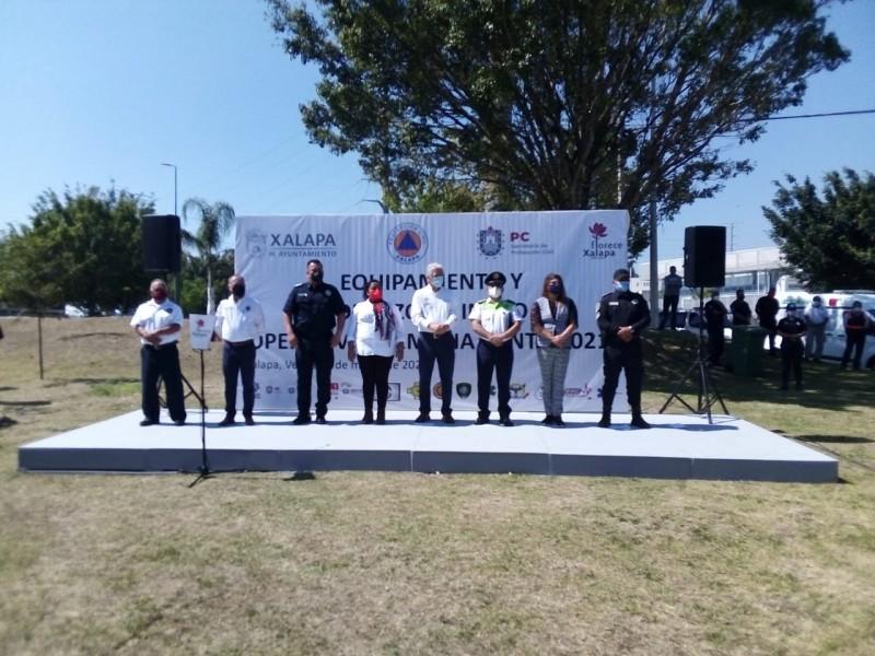 Dan banderazo al operativo Semana Santa 2021 en Xalapa