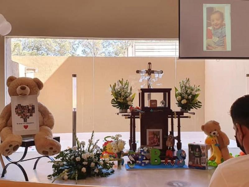 Dan el último adiós al pequeño Sebastiano en Ciudad Juárez