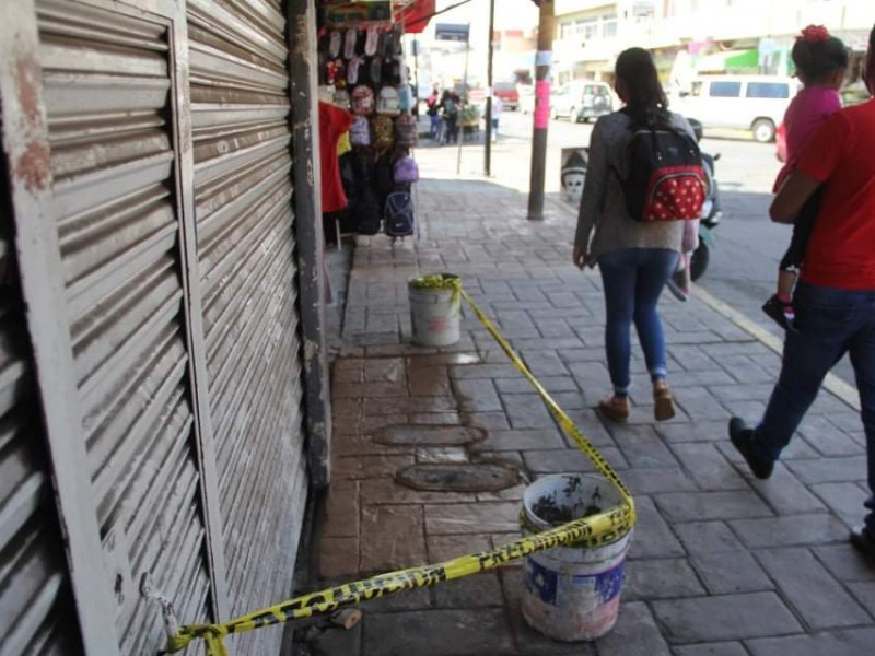 Dan mantenimiento a banquetas y rampas de Zamora