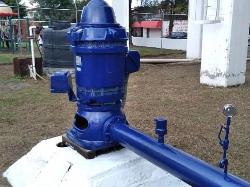 Dan mantenimiento a fuentes de abastecimiento de agua potable