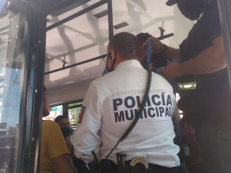 Dan seguimiento a protocolo de seguridad en transporte público