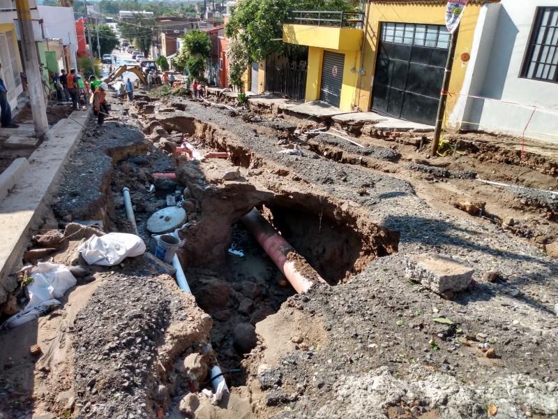 Daños por lluvia en Huentitán El Alto