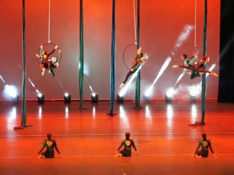 Danza aérea, una expresión artística al alcance de cualquiera