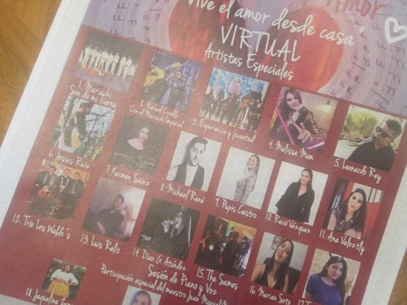 Dará IMFOCULTA concierto virtual por 14 de febrero