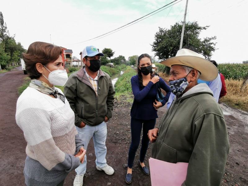 Darán mantenimiento a caminos saca cosechas en Zamora