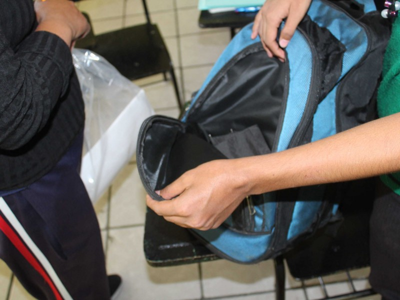 DDHQ apoya operativo mochila como acompañantes