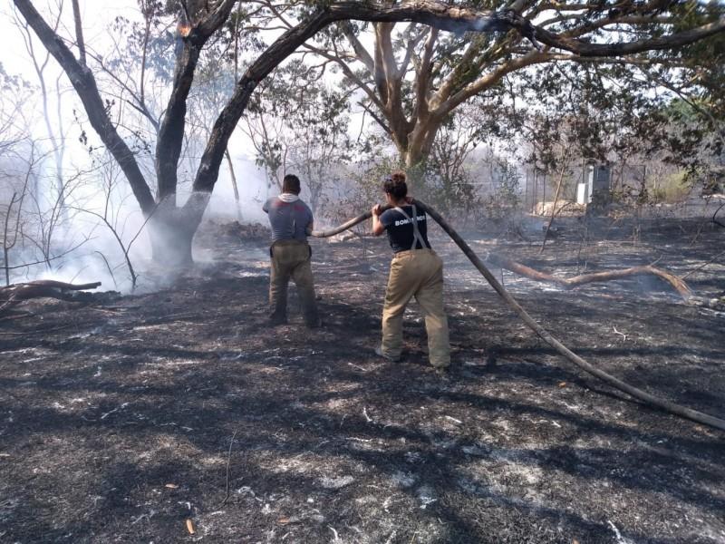 De cuatro a seis incendios diarios atienden Bomberos