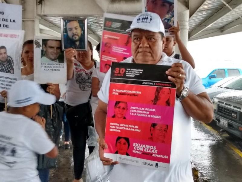 De víctimas a defensoras, reprueba criminalización de desaparecidos