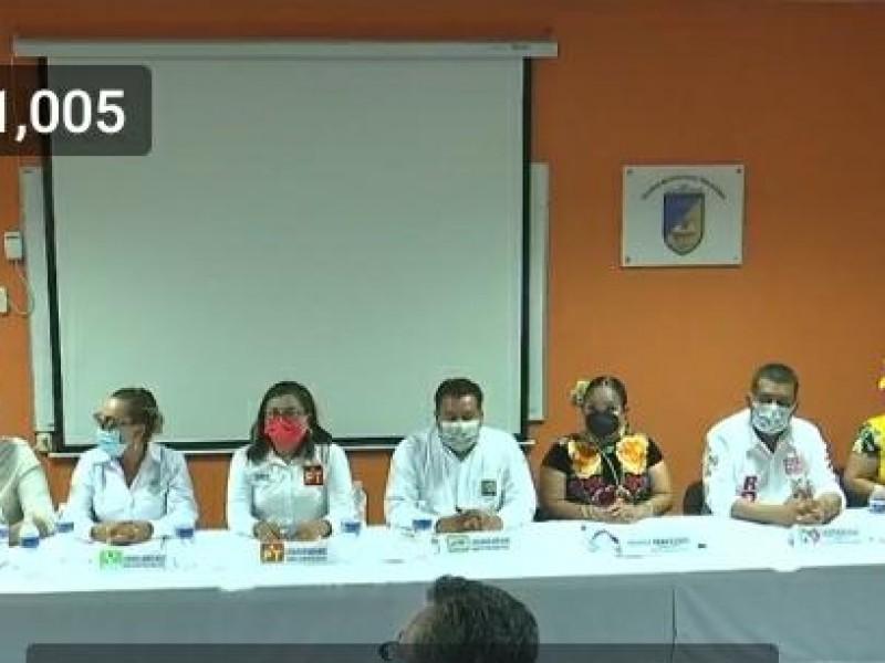 Debate en Tehuantepec; pasarela de propuestas de candidatos