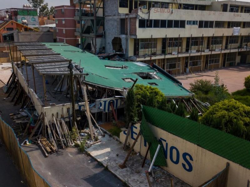 Declaran culpable a director de obra del colegio Rébsamen