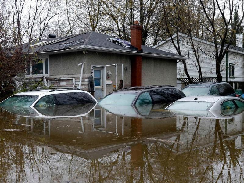Declaran emergencia en Canadá por inundaciones