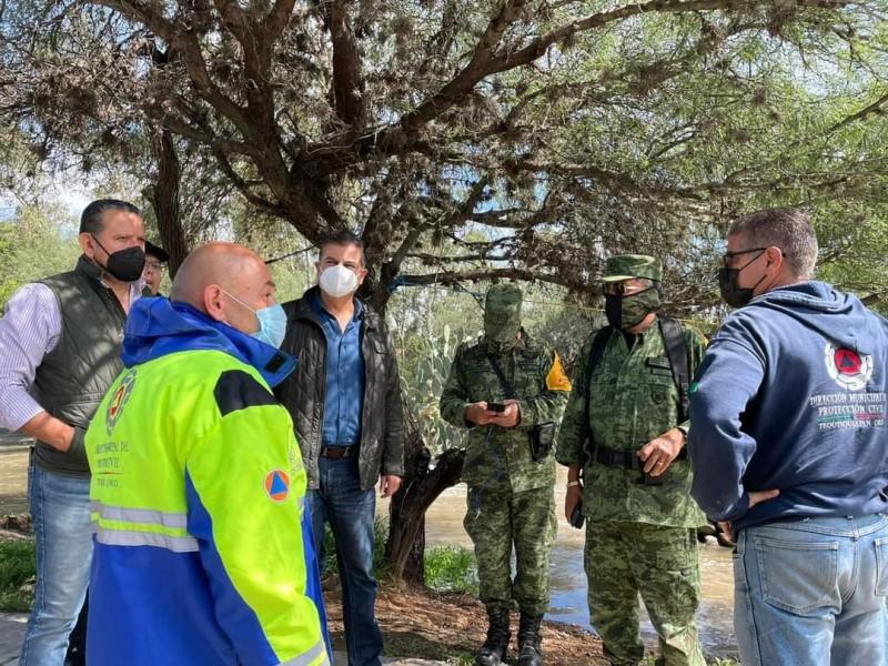 Declaran plan DN III en Tequisquiapan; evacuan a familias