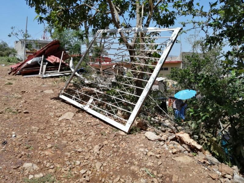 Declaratoria de emergencia en TGZ por afectaciones en 250 viviendas