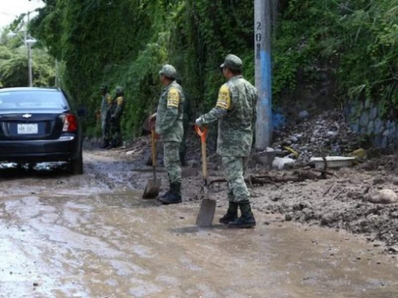 Declaratorias de emergencia en Aquila, Coalcomán, LC