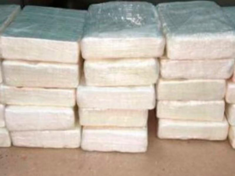 Decomisan 100 Kilos de cocaína cerca de Ímuris, Sonora