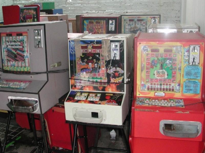 Decomisan 15 máquinas tragamonedas en Ecatepec