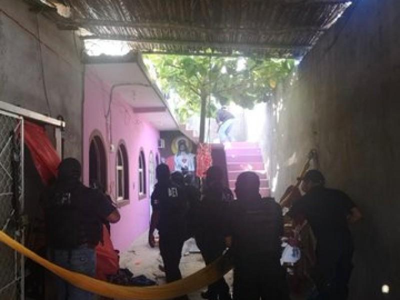 Decomisan drogas en cateo en San Blas Atempa