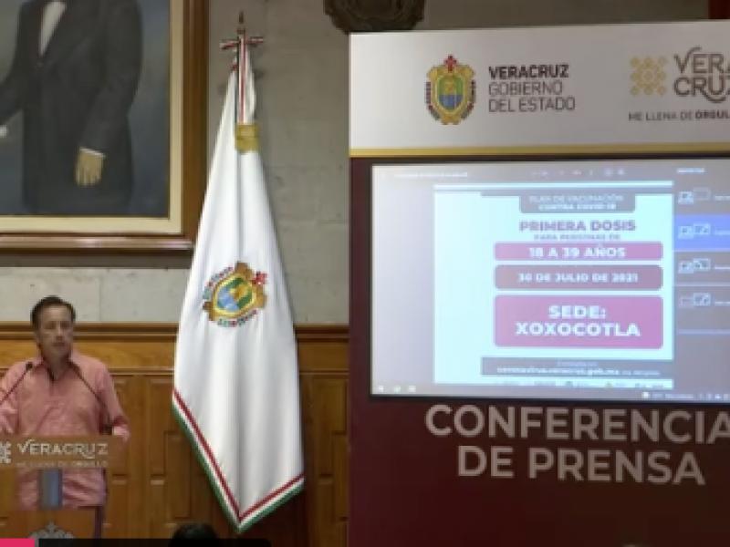 Decreto contra tercera ola de contagios en Veracruz
