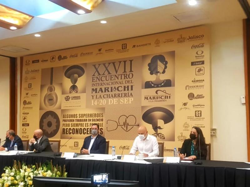 Dedican Encuentro del mariachi a personal médico; será virtual