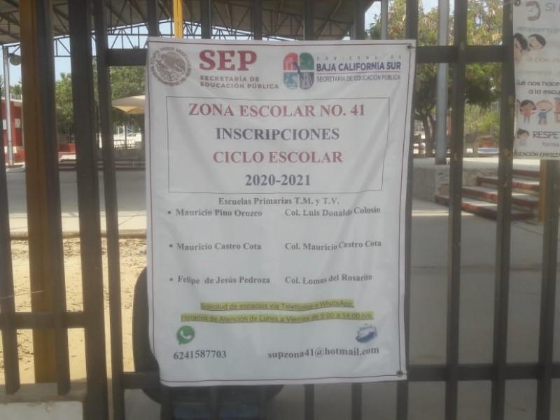 Déficit en espacios educativos se verá en tres semanas