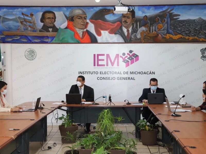Definen gastos máximos para precampañas en Michoacán