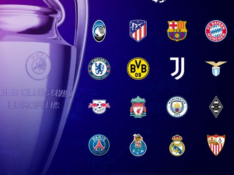 Definidos los 16 equipos calificados en la Champions