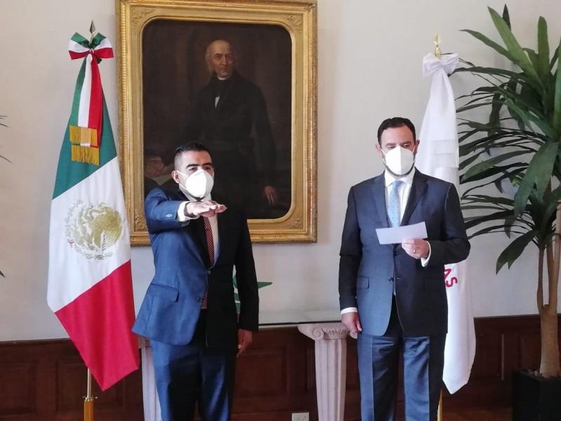Deja Camberos la SSP llega Arturo López Bazán