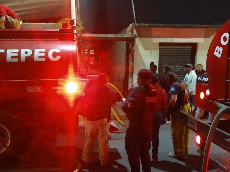 Deja cuatro lesionados, explosión de pirotecnia en Tultepec