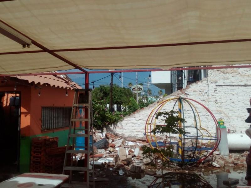 Fuerte lluvia de 10 mm en Navojoa causa destrozos