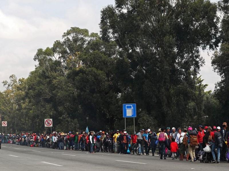 Dejan CDMX  700 migrantes este sábado