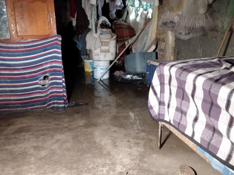 Dejó Narda drenajes colapsados en Bahía de Banderas
