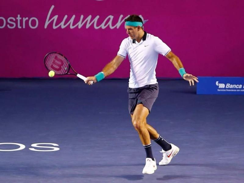 Del Potro gana en su debut en ATP