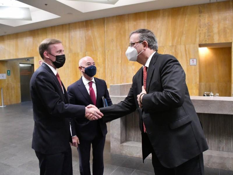 Delegación de EU tiene reunión de alto nivel con México