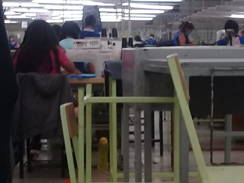 Delegación del trabajo atenderá quejas de maquiladoras obligadas a trabajar