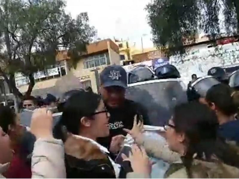 Delegada federal pide sensibilidad tras represión de manifestación