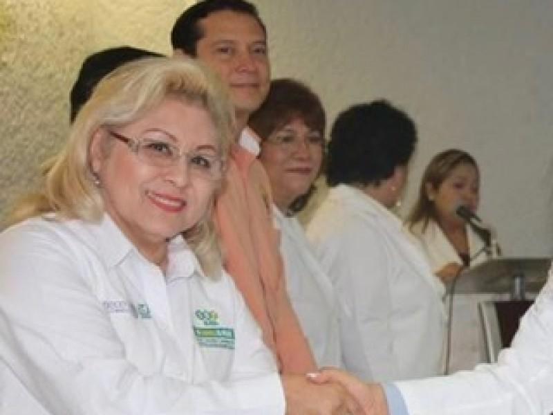 Delegada IMSS da positivo a Covid-19