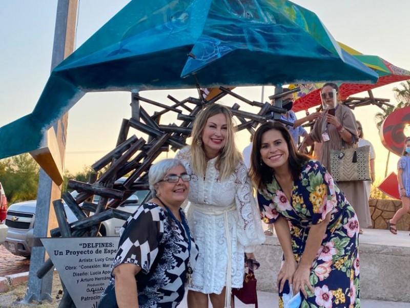 Delfines de Esperanza, un nuevo atractivo de San Carlos: Sara Valle