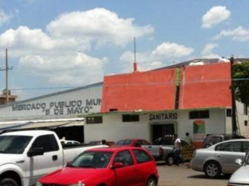 Delincuencia asola a locatarios del mercado 5 de mayo