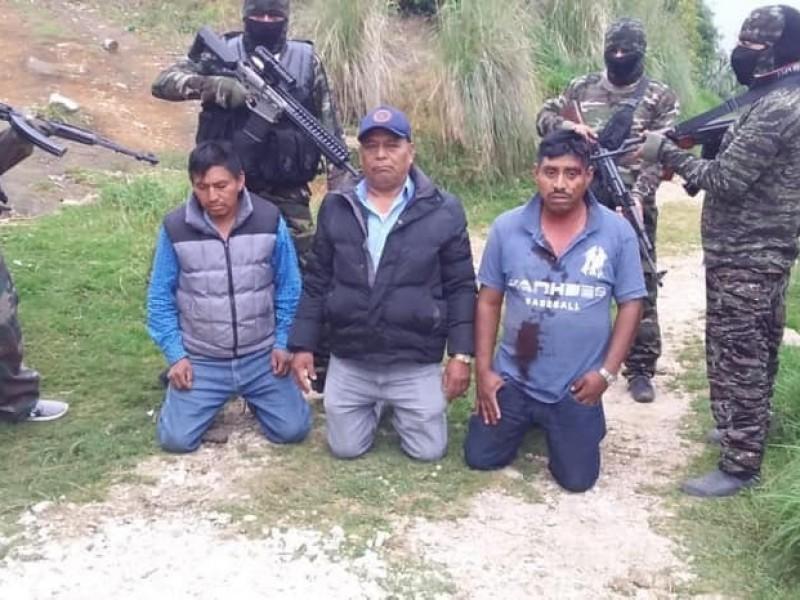 Delinquen con armas de grueso calibre en Chiapas