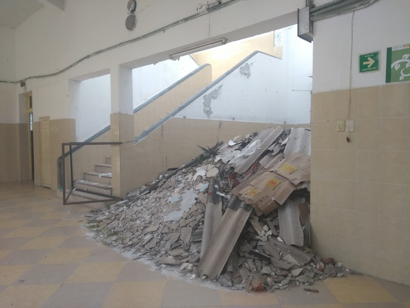 Demandan a INIFECH entrega de recursos para reconstrucción