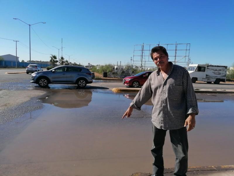 Demandan a junta de agua atienda fugas para evitar desperdicios