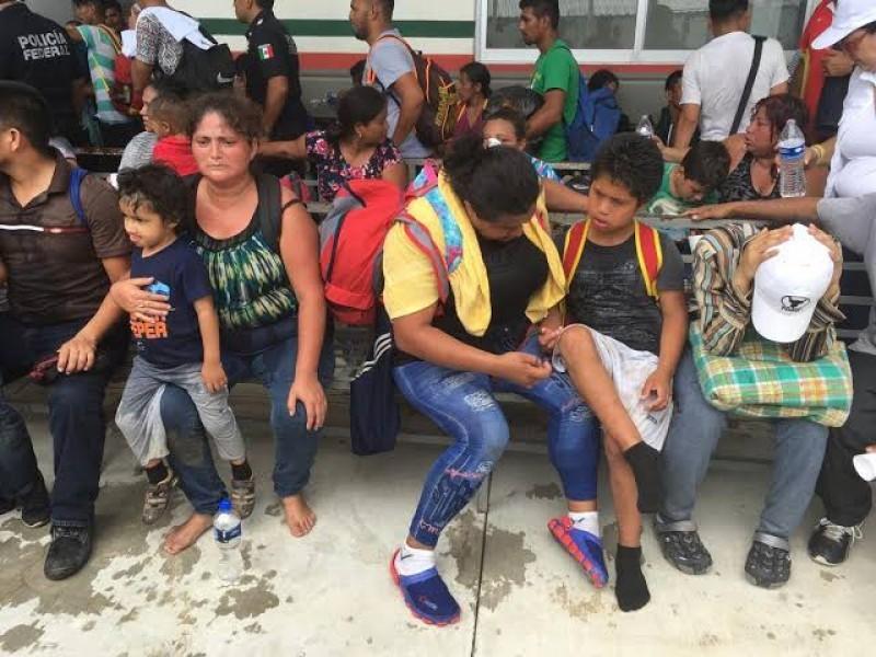 Demandan cese de violencia contra migrantes en Chiapas