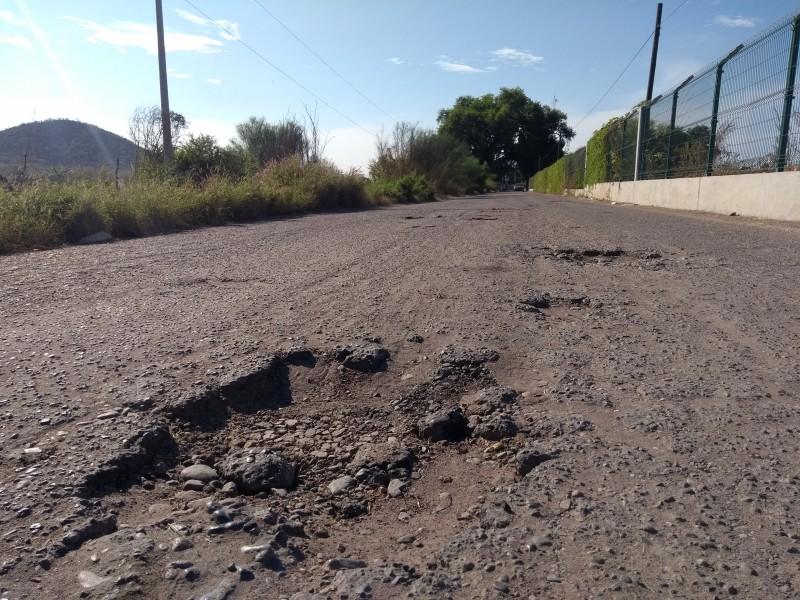 Demandan mejorar condiciones de carretera