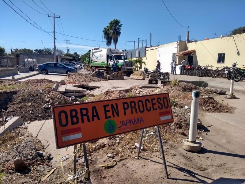 Demandan reparar socavones antes de que inicien las lluvias