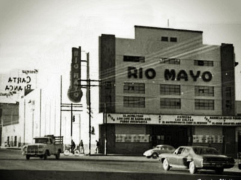 Demolerán antiguo edificio del cine Río Mayo en Navojoa
