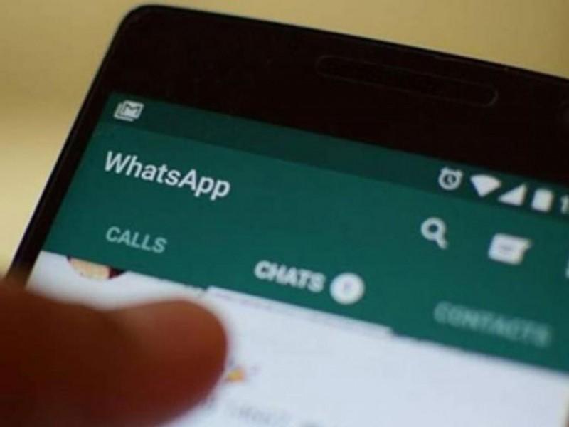 Denuncia extorsiones a través de WhatsApp